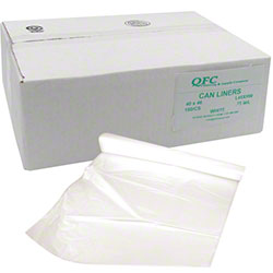 QFC Low Density Can Liner - 40 x 46, .75 mil, White
