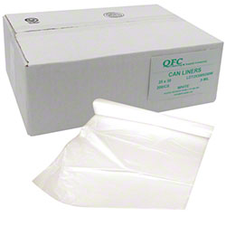 QFC Tall Kitchen Bag - 25 x 30, .9 mil, White