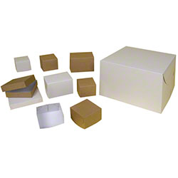 BOXit White Gloss Two Piece Lock Corner Gift Boxes