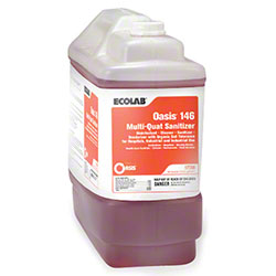 Ecolab® Oasis 146 Multi-Quat Sanitizer - 2.5 Gal.