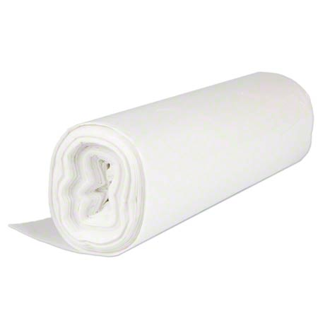 Inteplast HDPE Institutional Can Liner - 40 x 48, 22 mic,Nat