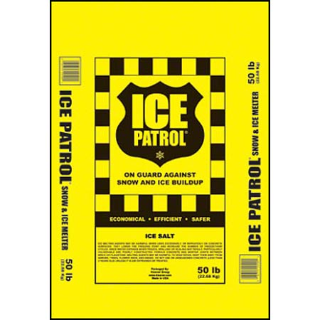 Kissner Ice Patrol Rock Salt - 50 lb. Bag