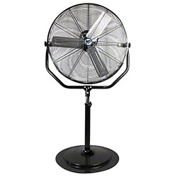 "MaxxAir™ Non-Oscillating Yoke Pedestal Fan - 30"", Black"
