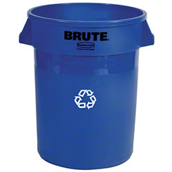 Rubbermaid® BRUTE® Recycling Container w/o Lid - 44 Gal.