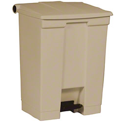 Rubbermaid® Step-On Can - 18 Gal., Beige