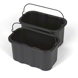 Rubbermaid® 10 Quart Sanitizing Caddy - Black