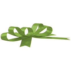 Shamrock Splendorette® Leaf Crimped Curling Ribbon