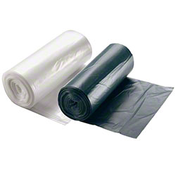 SSS® Ideal Fit™ LLDPE Can Liner-21.5x25, 0.47 mil,Clear