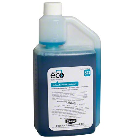 Buckeye® Eco® S23 Neutral Disinfectant - 0.95 L