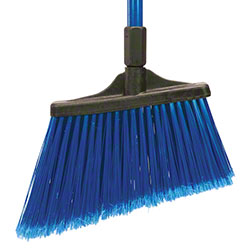 O Cedar® MaxiSweep™ Angle Broom, Blue Fiberglass Handle
