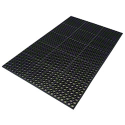 Axia Premium Straight Edge General Purpose Mat - Black