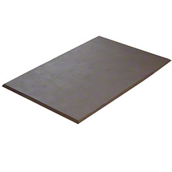 "Axia Solid Sponge Mat - 24"" x 36"" x 5/8"", Brown"