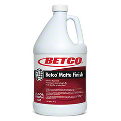 Betco® Matte Finish Low Gloss Floor Finish - Gal.