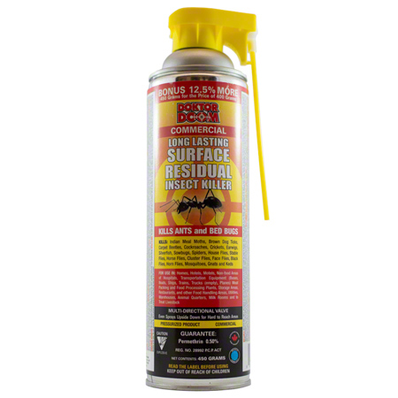 Doktor Doom Residual Surface Insecticide Spray - 450g
