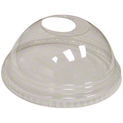 Fabri-Kal® Clear Dome w/Hole