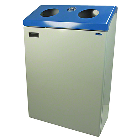 Frost™ Modular Recycling Station - Blue/Grey