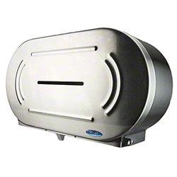 Frost™ Stainless Steel Twin Jumbo Toilet Tissue Dispenser