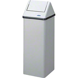 Frost™ Large Free Standing Waste Receptacle - 28 Gal.