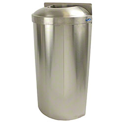 Frost™ Wall Mounted Open Top SS Waste Receptacle -16 Gal.