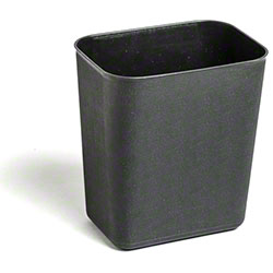 M2 Professional Waste Basket - 14 Qt., Black