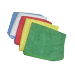 "Microfiber Cloths - 14"" x 14"", Blue"