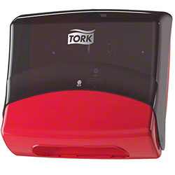 Tork® Folded Wiper/Cloth Dispenser - Red