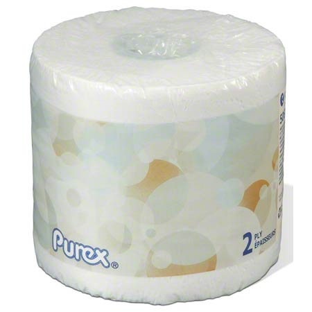 "Purex® Premium 2 Ply Bathroom Tissue - 4.2"" x 4"""