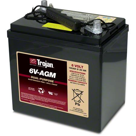 Trojan® 6V-AGM Dual Purpose AGM Battery