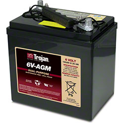 Trojan® 6V-AGM Dual Purpose AGM Battery