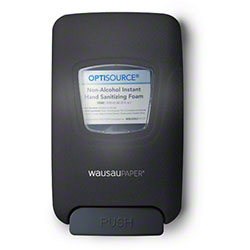 WausauPaper® OptiSource Convertible™ Soap Disp-Black