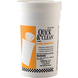 Hillyard Quick & Clean® Hand Sanitizer Wipes