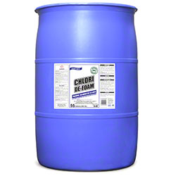 Rex Chlori De-Foam Foaming Chlorinated Cleaner -55 Gal. Drum