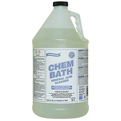 Rex Chem Bath Mineral Acid Cleaner - Gal. Case/4