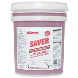 Rex Saver Machine Warewashing Liquid Detergent - 5 Gal. Pail