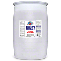 Rex USA High Shine 27 Floor Finish - 30 Gal. Drum