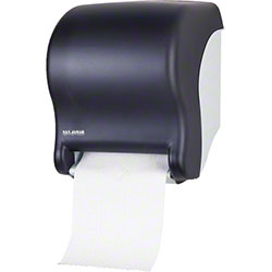San Jamar® Tear-N-Dry Essence™ Classic Dispenser -Black