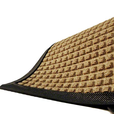 M + A Matting Waterhog® Classic - Medium Brown, 3x5