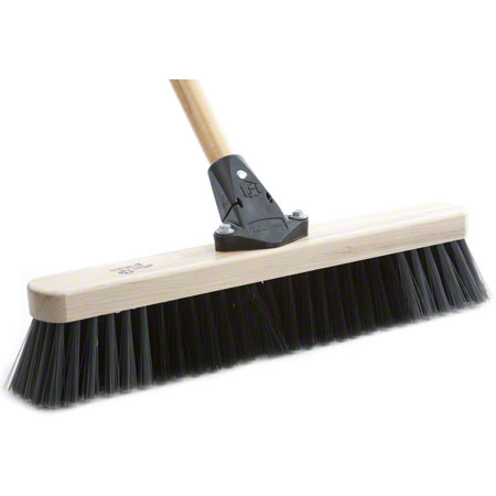 "AGF Flexsweep Medium Push Broom - 24"", Boxed"