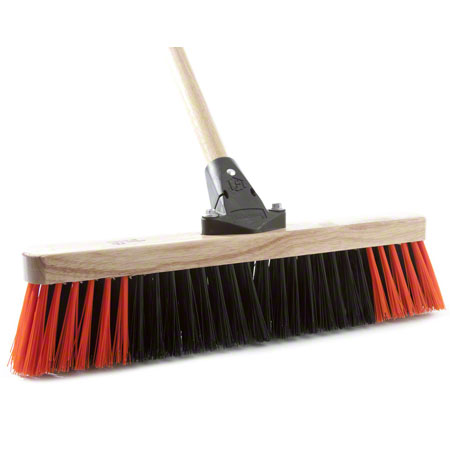 "AGF Flexsweep Coarse Sweep Push Broom - 24"" Boxed"