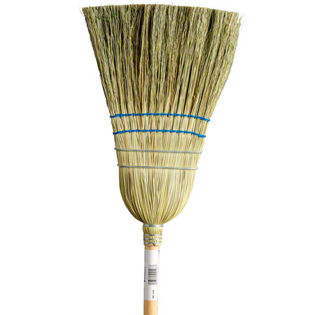 M2 Professional Medium to Heavy Duty 2 String Corn Broom
