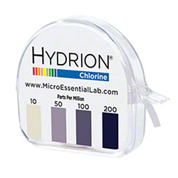 Micro Hydrion® CM-240 Micro Chlorine Test Paper