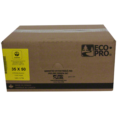 PRO-LINK® EcoPro® Low Density - 35 x 50, Strong, Black
