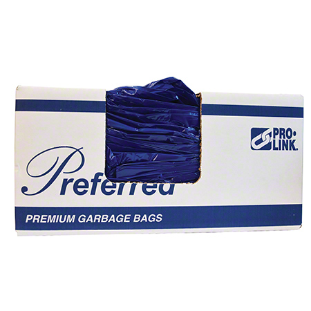 PRO-LINK® Preferred Series Blue Garbage Bag - 35 x 50