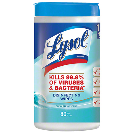 Lysol® Brand Disinfecting Wipes - Ocean Fresh