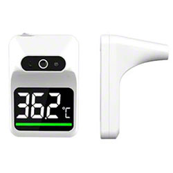 Automatic Infrared Wall Mount Thermometer - White