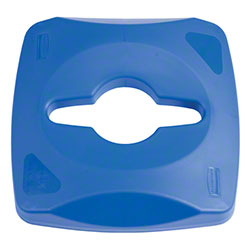 Rubbermaid® Untouchable® Single Stream Recycling Top-BL