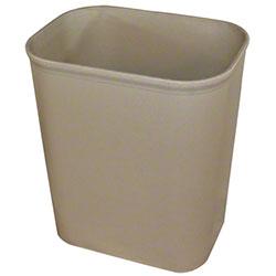 Impact® Fire Resistant Wastebasket - 14 Qt., Beige