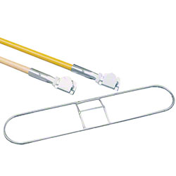 "SSS® Dust Mop Frame - 5"" Quick Change, 48"""