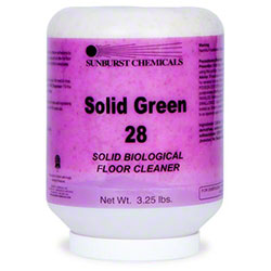 Sunburst Solid Green 28 Biological Floor Cleaner - 3.25 lbs.