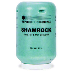 Sunburst Shamrock Solid Pot & Pan Detergent - 4 lbs.